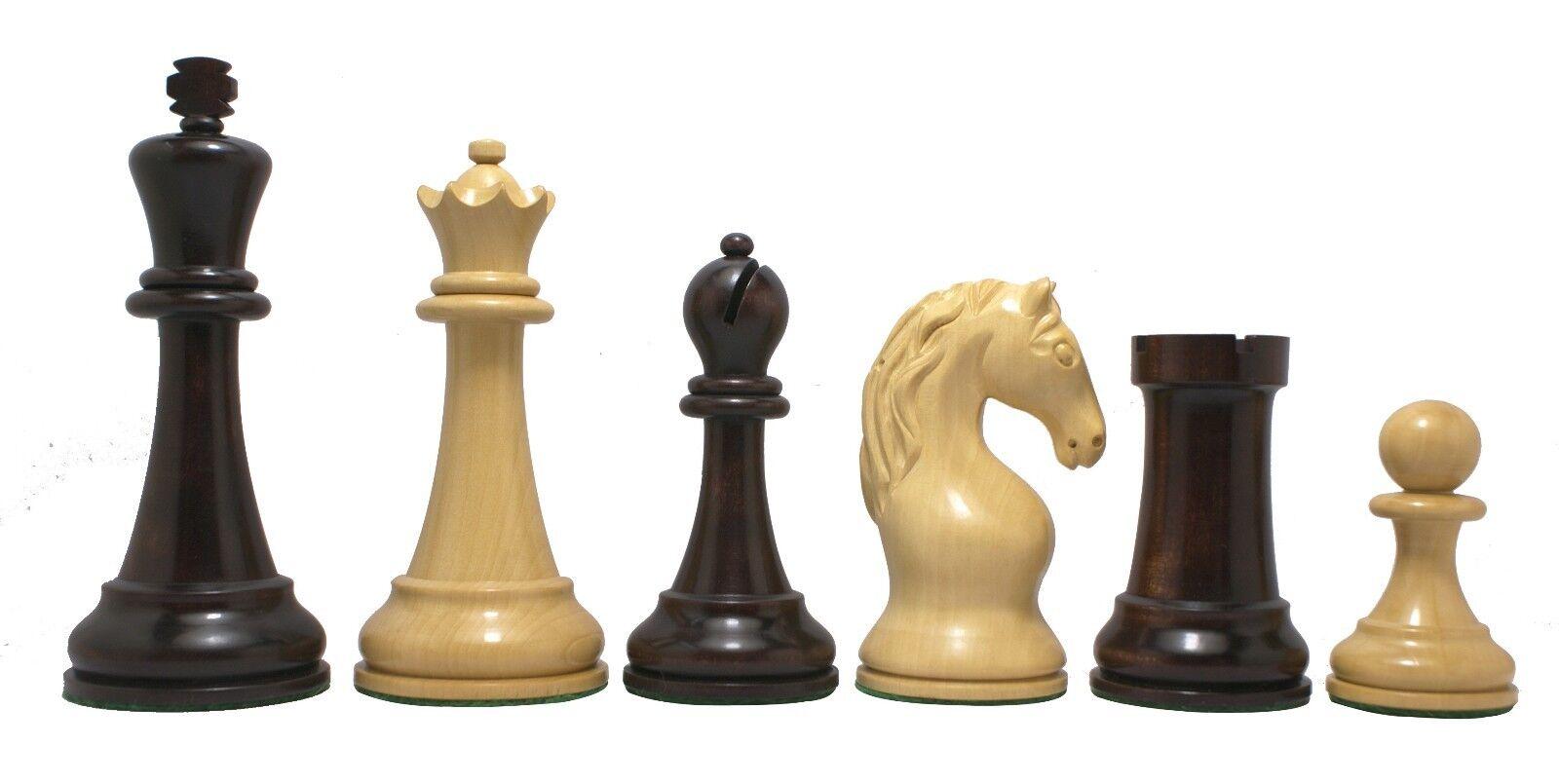 Piatigorsky Cup 1862-1865 Replica 4.5   Chess SETR Box bois & de couleur acajou  achats de mode en ligne
