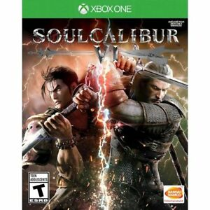 Soul-Calibur-VI-Xbox-One-XB1-Brand-New-Factory-Sealed