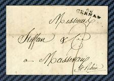 -= Lettre de CERNAY pour MASEVAUX (Haut-Rhin) - 1809 =-