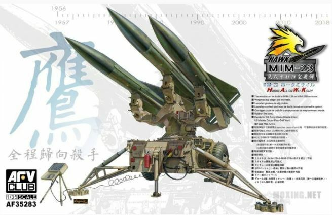 AFV Club 1 35 US MIM-23 HAWK (Homing all the Way Killer) AF35283
