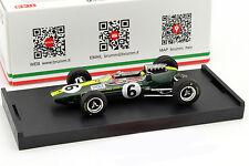 Mike Spence Lotus 33 #6 Italien GP Formel 1 1965 1:43 Brumm