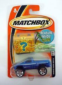 MATCHBOX-DODGE-RAM-SRT10-Treasure-Inside-Inside-Die-Cast-MOC-COMPLETE-2005