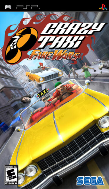 Crazy Taxi: Fare Wars PSP New sony_psp