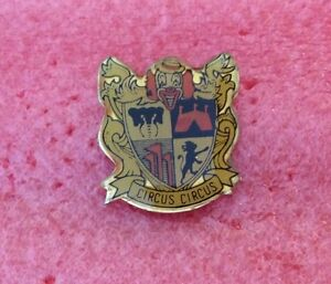 Pins-CIRQUE-Clown-Blason-CIRCUS-CIRCUS