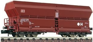 Fleischmann-N-852323-Self-Unloading-Wagon-Coal-Wagons-Ore-Car-DB-EP-4-5-NIP