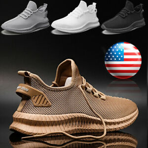 Men-039-s-Athletic-Jogging-Sports-Tennis-Sneakers-Gym-Outdoor-Casual-Running-Shoes