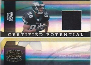 REGGIE-BROWN-2006-LEAF-CERTIFIED-POTENTIAL-CP-15-JERSEY-007-100-FB3149