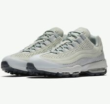 Men's Nike Air Max 95 Ultra Premium Breathe Trainers Sz UK 10 Pumice ...