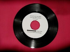 Original-Rock-Soul-Pop-45-rpm-039-s-from-50s-to-80s-1-25-each-034-A-to-F-034