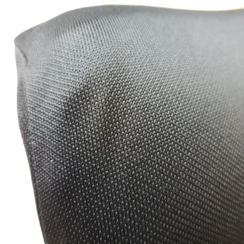 Only ONE  Black Headrest Covers For Car Van Bus Head Rest Cover Universal