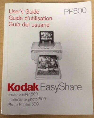 Kodak Easyshare Printer Dock Manual//User/'s Guide