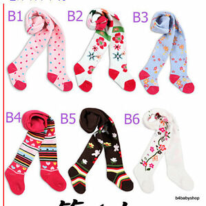 2-x-Baby-girls-colourful-Socks-Tights-3-6M-6-12M12-18M
