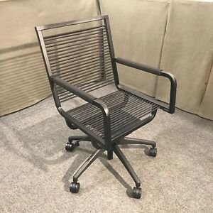 Image Is Loading Bungee Office Chair High Back With Arms Bungie