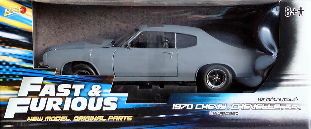 1970 Chevy Chevelle SS DOM presque & Furious CHEVROLET 1 18 Johnny Lightning 39579