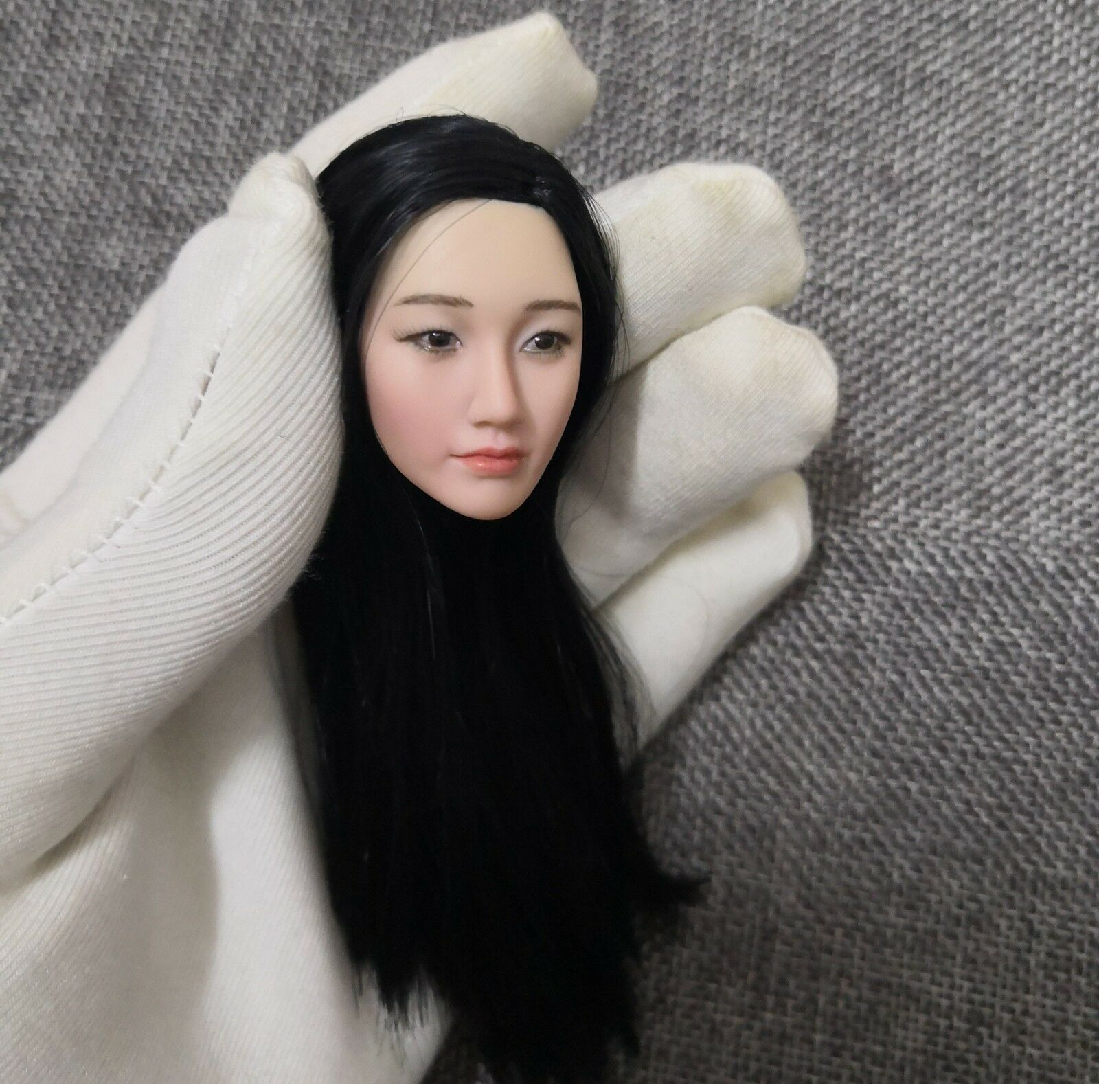 1 6 Scale Female Asian Beauty Zhouxun Pale Skin Head Sculpt F 12  Figure Body