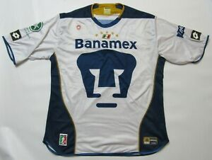 best service 026b1 dec16 Details about Pumas UNAM home jersey shirt LOTTO 2004 Club Universidad  Nacional adult SIZE XL