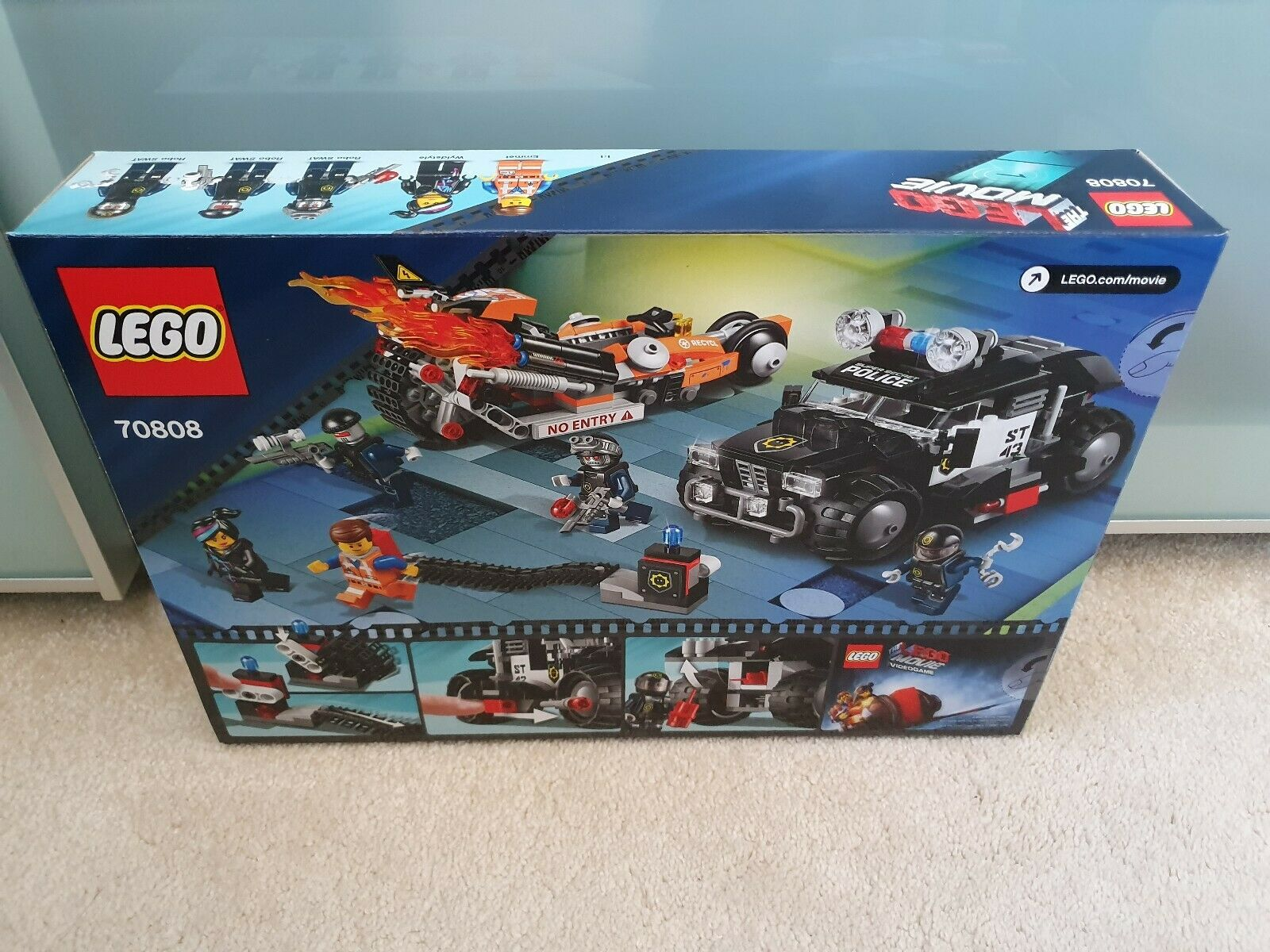 LEGO 70808 - The Lego Movie Super Cycle Chase Brand New + Sealed + Perfect Con