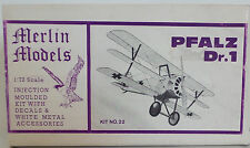 AVIATION : GERMAN PFALZ DR.1 1/72 SCALE MERLIN MODEL KIT