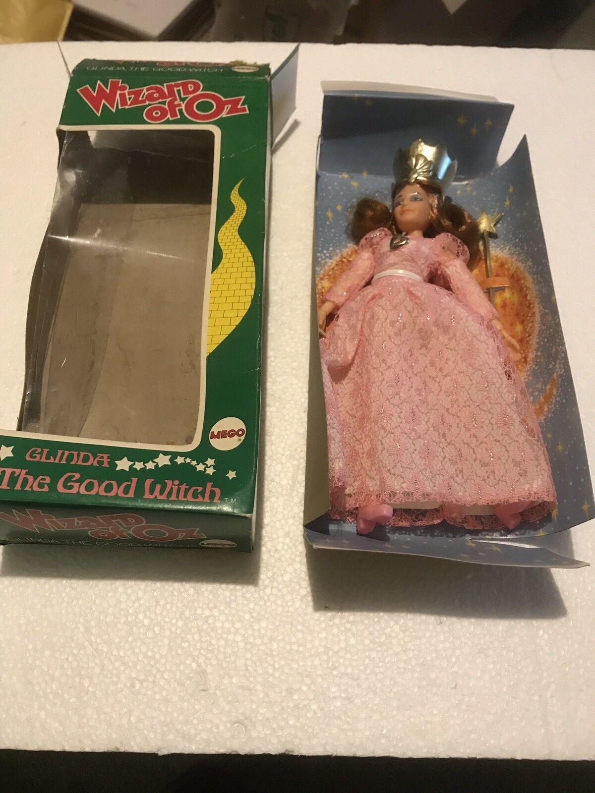 Vintage 1974 Coffret MEGO WIZARD Oz Glinda Bonne Sorcière Nouveau Dur à trouver qui