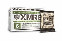 XMRE 1300XT Extended Shelf Life Military-Grade MRE Multipacks (6 Meals)