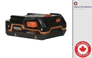 NEW - Ridgid 1.5AH 18V Battery Lithium Model R840085 18 VOLT X4