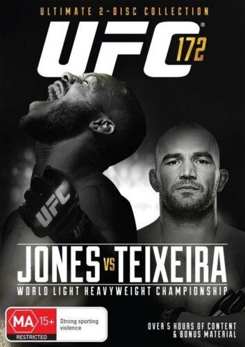 1 of 1 - UFC #172 - Jones Vs Texeira (DVD, 2014, 2-Disc Set)