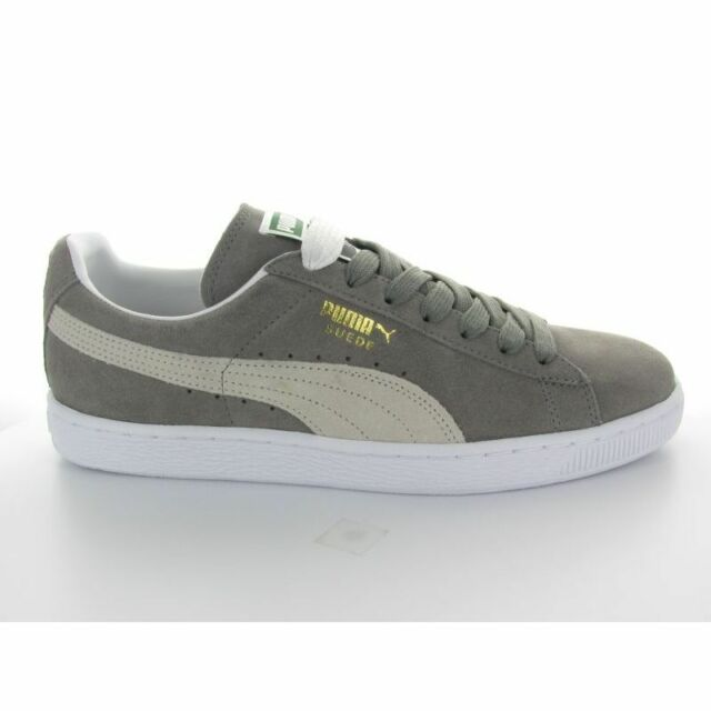 super populaire 0cb66 8496f Chaussures Casual Homme Suede Classic Puma Gris 44