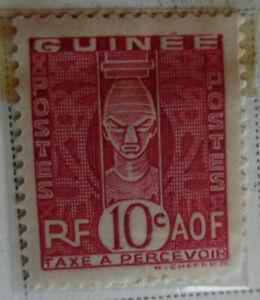 French-Guinea-1938-Stamp-10c-MNH-Stamp-Rare-StampBook1-65