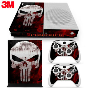 Video Games & Consoles The Cheapest Price Punisher Xbox One S 2 Sticker Console Decal Xbox One Controller Vinyl Skin Faceplates, Decals & Stickers