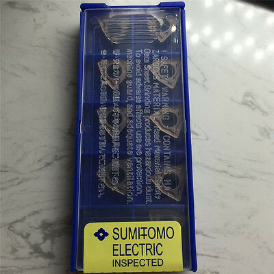 10pcs New Sumitomo WCMT080412FN ACZ330 CNC Carbide Inserts