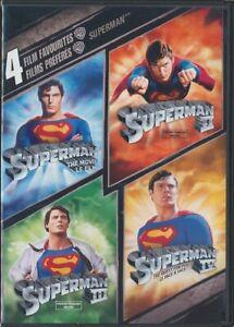4-Film-Favorites-Superman-DVD-2008-2-Disc-Set-Canadian-Widescreen