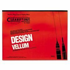 1 Each 17 x 22 Inches Clearprint 1020H Design Vellum Sheets 20 Lb. 12201520 100 Sheets Per Pack 100/% Cotton