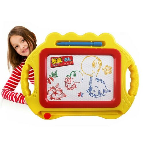 Magic Writer Magnetic Easy Writing Drawing Slate Board Doodle Pad Kids Xmas Gift