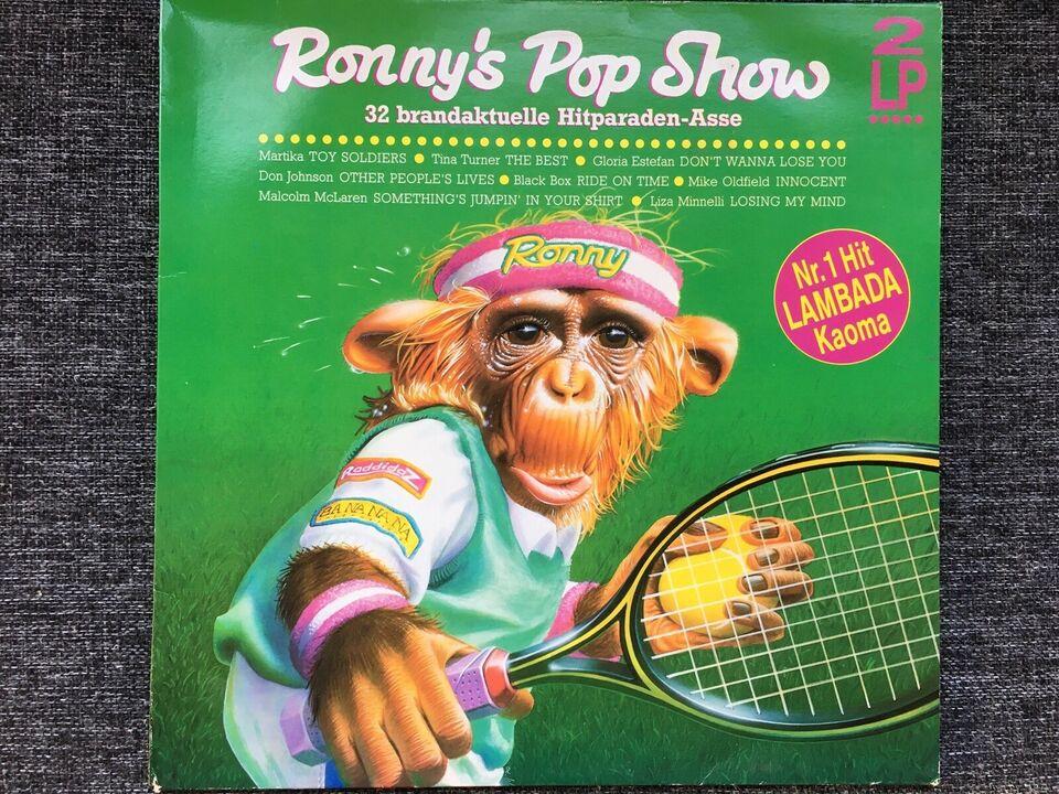 LP, Diverse, Ronny's Pop Show