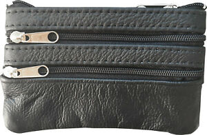 Men-Woman-Genuine-Leather-Coin-Purse-Cowhide-Change-Purse-Coin-Pouch-Key-Ring