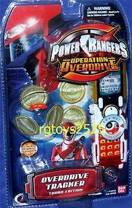 Power Rangers Opération Overdrive Tracker Morpher Turbo Edition Nouveau 2006 45557291020