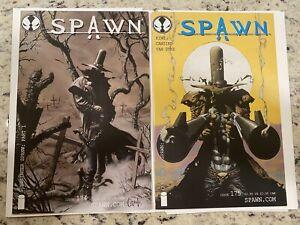 Spawn 174 & 175 1st Gunslinger set Low Print run NM