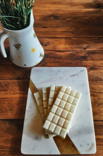 FAST AND FREE! Homemade HIGHLY SCENTED Fresh Linen Soy Wax Melt Bar