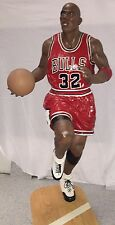 LIFE SIZE STATUE MICHAEL JORDAN 6.7 FEET TALL FROM THE MID 90'S,  RARE with # 32