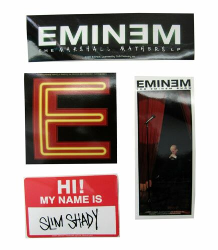 Eminem The Slim Shady LP Song List Uncensored Black T Shirt New Official Adult