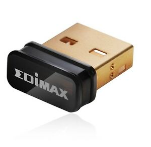 Edimax-wireless-USB-NANO-STICK-ew-7811un-Wireless-Adapter-150-Mbps-802-11b-g-n