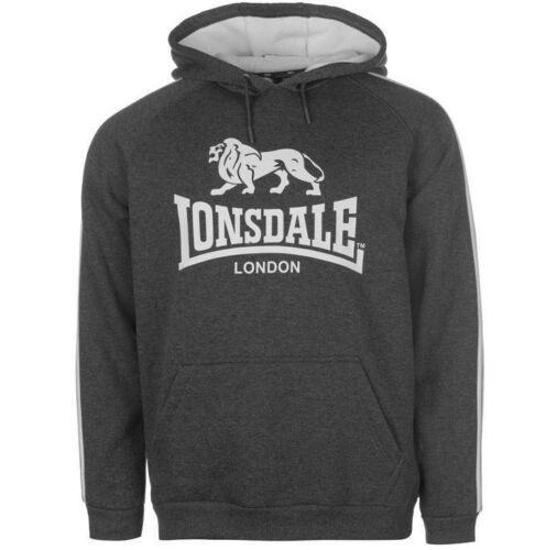 Lonsdale Herren Kapuzen Sweatshirt Gr S M L XL 2XL 3XL 4XL Hood Hoodie Pullover