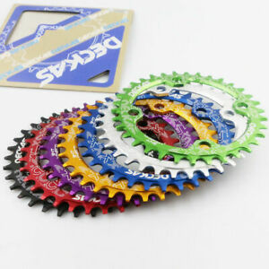 DECKAS-MTB-Bike-Round-Oval-Chainring-Bicycle-Chainwheel-32-34-36-38T-104BCD