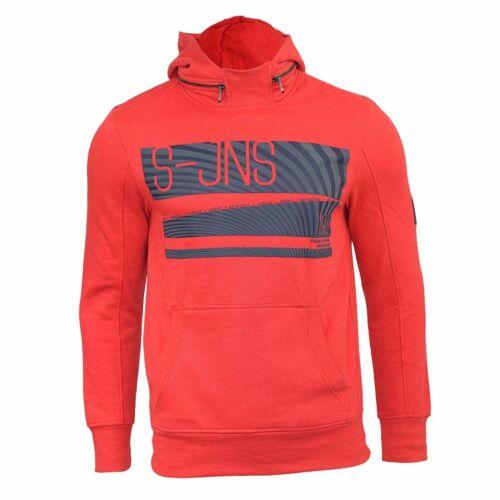 Mens Hoodie Smith /& Jones Lierne o//head Hoody Hooded Sweater Sweat Shirt