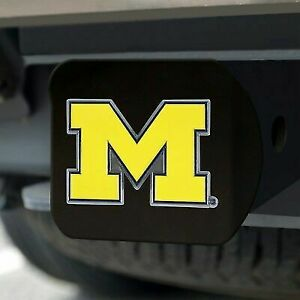 """Michigan Wolverines Hitch Cover Class III 2/"""" Receiver"""