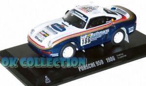 1-43-Dakar-PORSCHE-959-1986-Rara-con-sponsor-Rothmans-R-Metge-D-Lemoyne