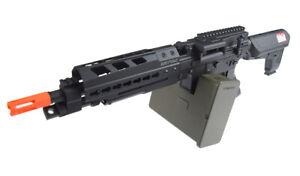 Details about Krytac Full Metal Trident MK II LMG AEG Airsoft Light Machine  Gun with Box Mag