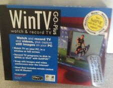 NEW - Sealed - WinTV Go-Plus Hauppauge watch and record TV on your computer 1033