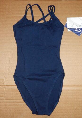 NWT Capezio Double Strap camisole leotard CC123 Navy CHILD /& adult sizes