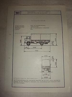 Trendmarkierung Original Ddr Reklame Prospekt Datenblatt Pritsche Lkw W 50 L/sp Veb Ifa 1981 Reklame Kataloge & Prospekte